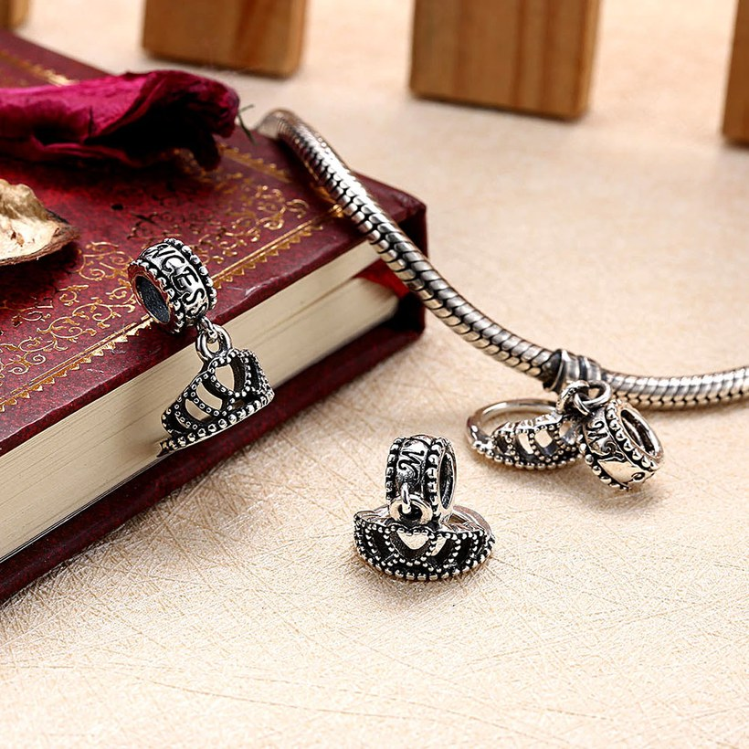 Wholesale 925 Sterling Silver DIY Bracelet Antique Accessories TGSLBD115 3
