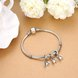 Wholesale 925 Sterling Silver DIY Bracelet Antique Accessories TGSLBD116 4