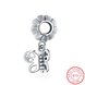 Wholesale 925 Sterling Silver DIY Bracelet Antique Accessories TGSLBD116 5