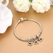 Wholesale 925 Sterling Silver DIY Bracelet Antique Accessories TGSLBD120 4