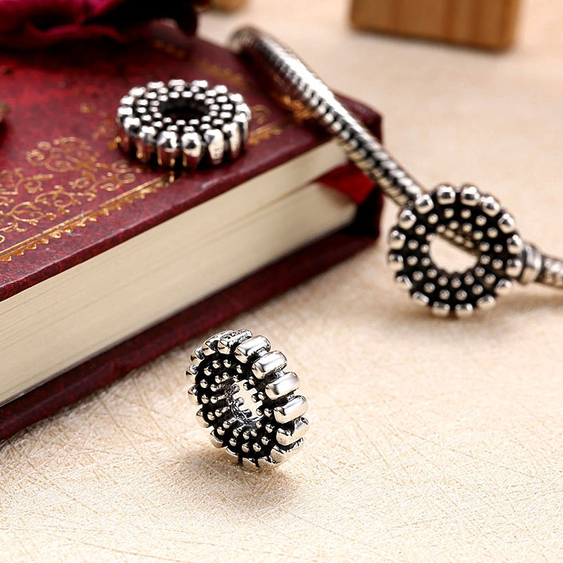Wholesale 925 Sterling Silver DIY Bracelet Antique Accessories TGSLBD126 3