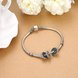 Wholesale 925 Sterling Silver DIY Bracelet Antique Accessories TGSLBD126 4
