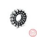 Wholesale 925 Sterling Silver DIY Bracelet Antique Accessories TGSLBD126 5