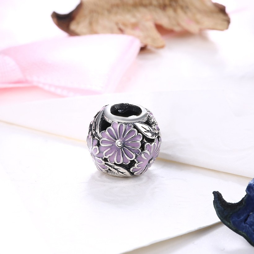 Wholesale 925 Sterling Silver DIY Bracelet Antique Bead TGSLBD135 1