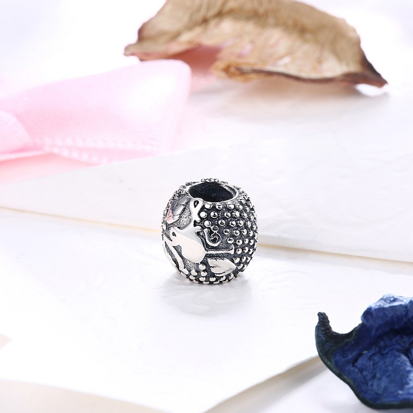 Wholesale Antique 925 Sterling Silver DIY Bracelet Bead TGSLBD015 1
