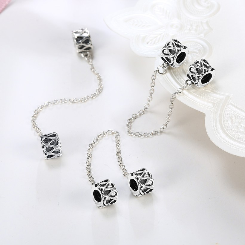 Wholesale 925 Sterling Silver DIY Bracelet Accessories TGSLBD057 3