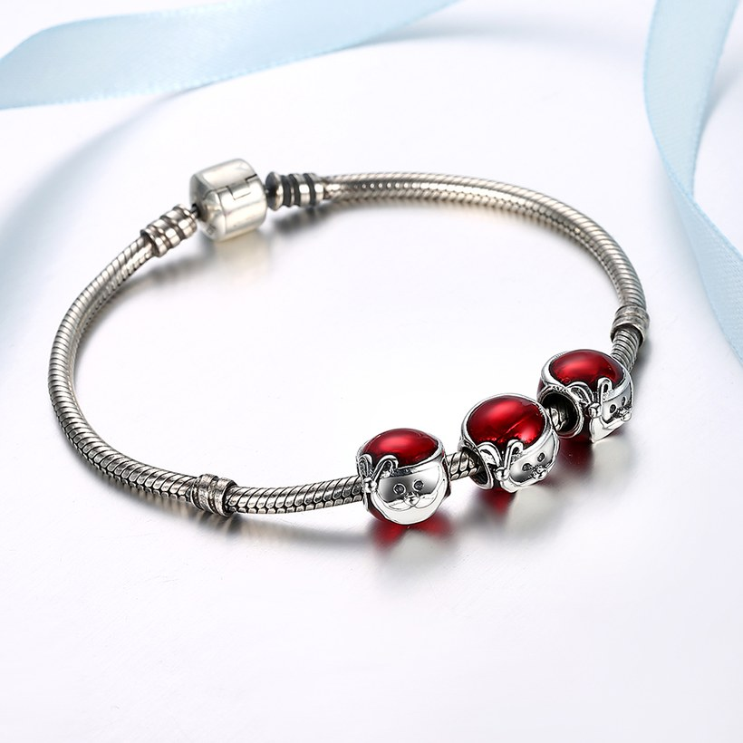 Wholesale 925 Sterling Silver DIY Bracelet Accessories TGSLBD065 4