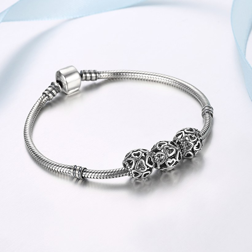 Wholesale 925 Sterling Silver DIY Bracelet Bead TGSLBD078 4