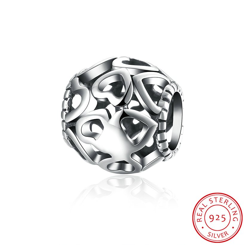 Wholesale 925 Sterling Silver DIY Bracelet Bead TGSLBD078 5