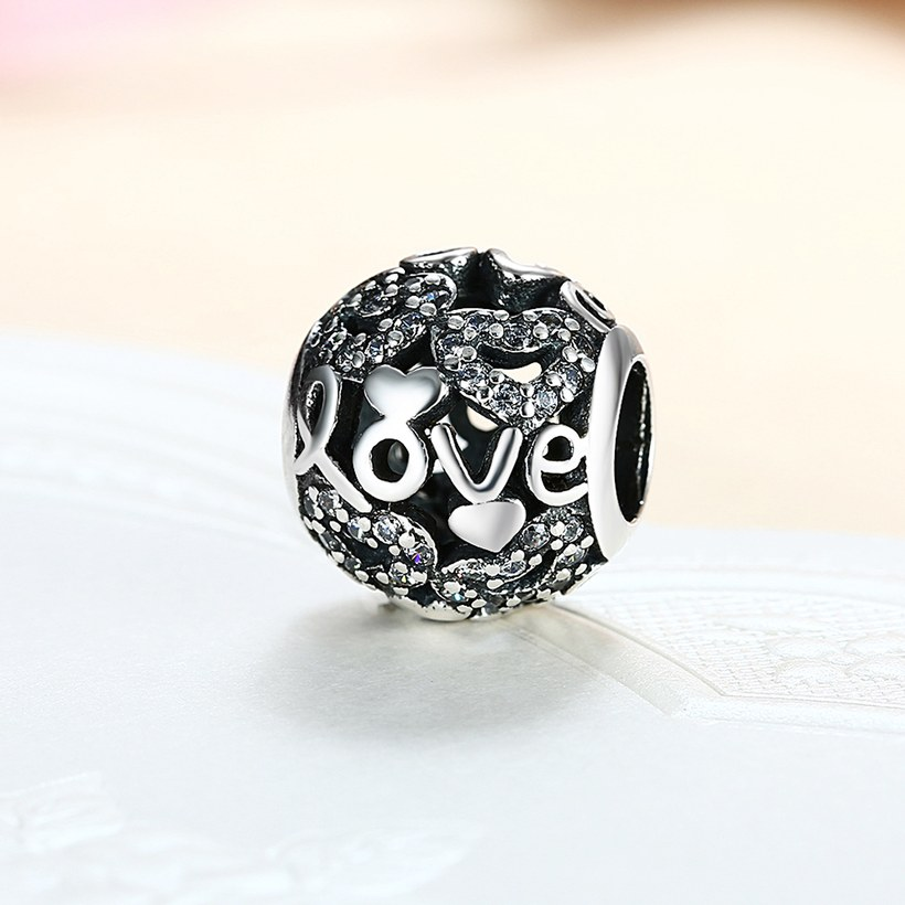 Wholesale 925 Sterling Silver DIY Bracelet Bead Accessories TGSLBD085 1