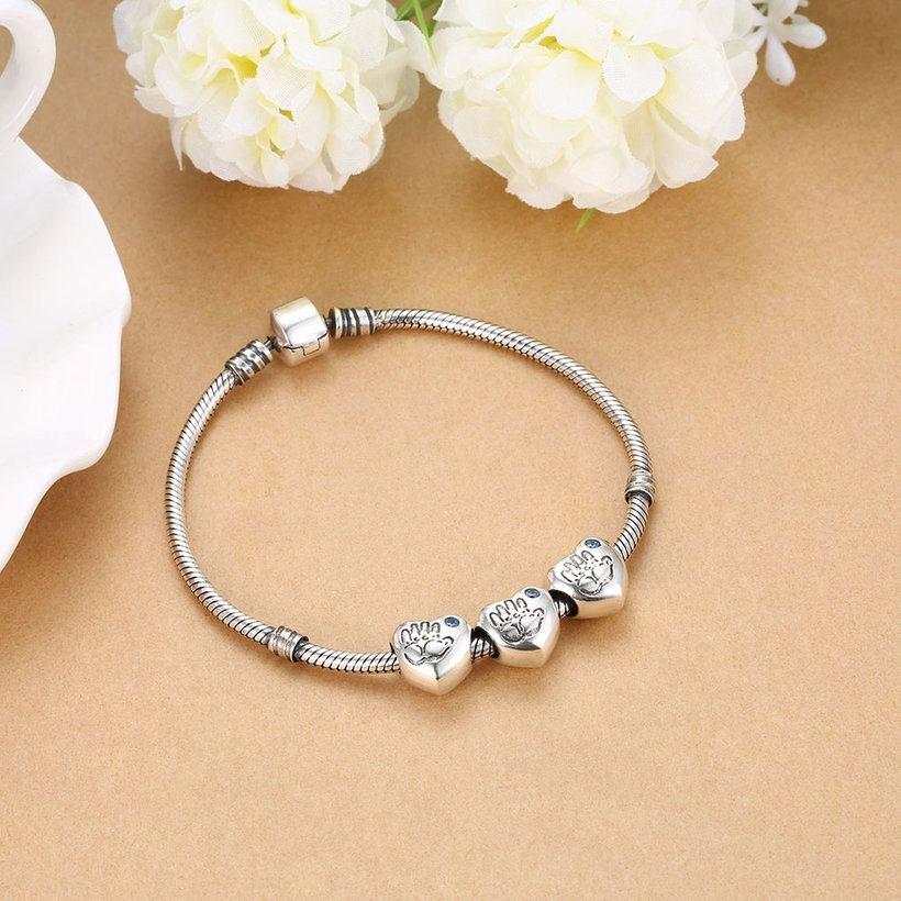Wholesale Antique Sterling Silver CZ Bead TGSLBD100 4