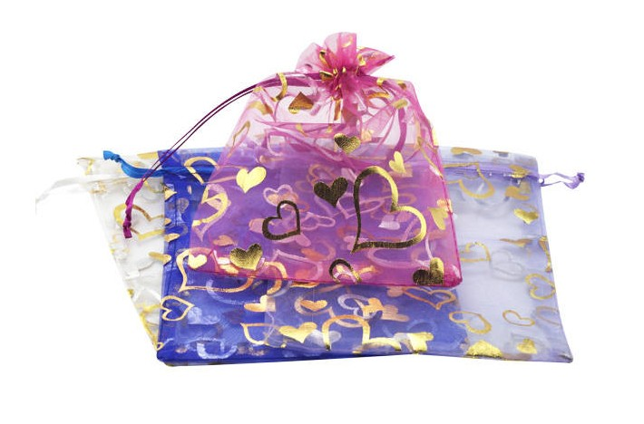 Wholesale Jewelry chiffon gift bags TGGB001 3