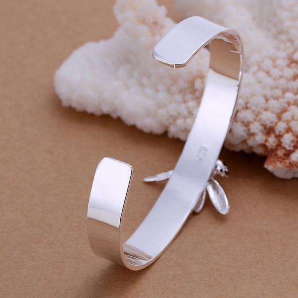Wholesale Trendy Silver Insect Wood Bangle&Cuff TGSPBL051 0