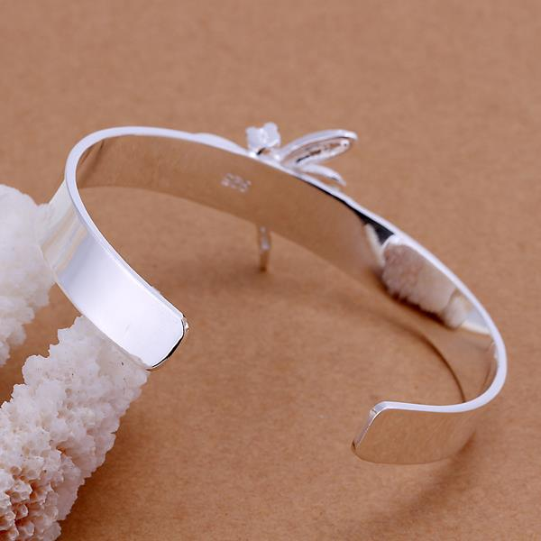 Wholesale Trendy Silver Insect Wood Bangle&Cuff TGSPBL051 2