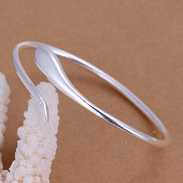 Wholesale Trendy Silver Animal Bangle&Cuff TGSPBL085 0