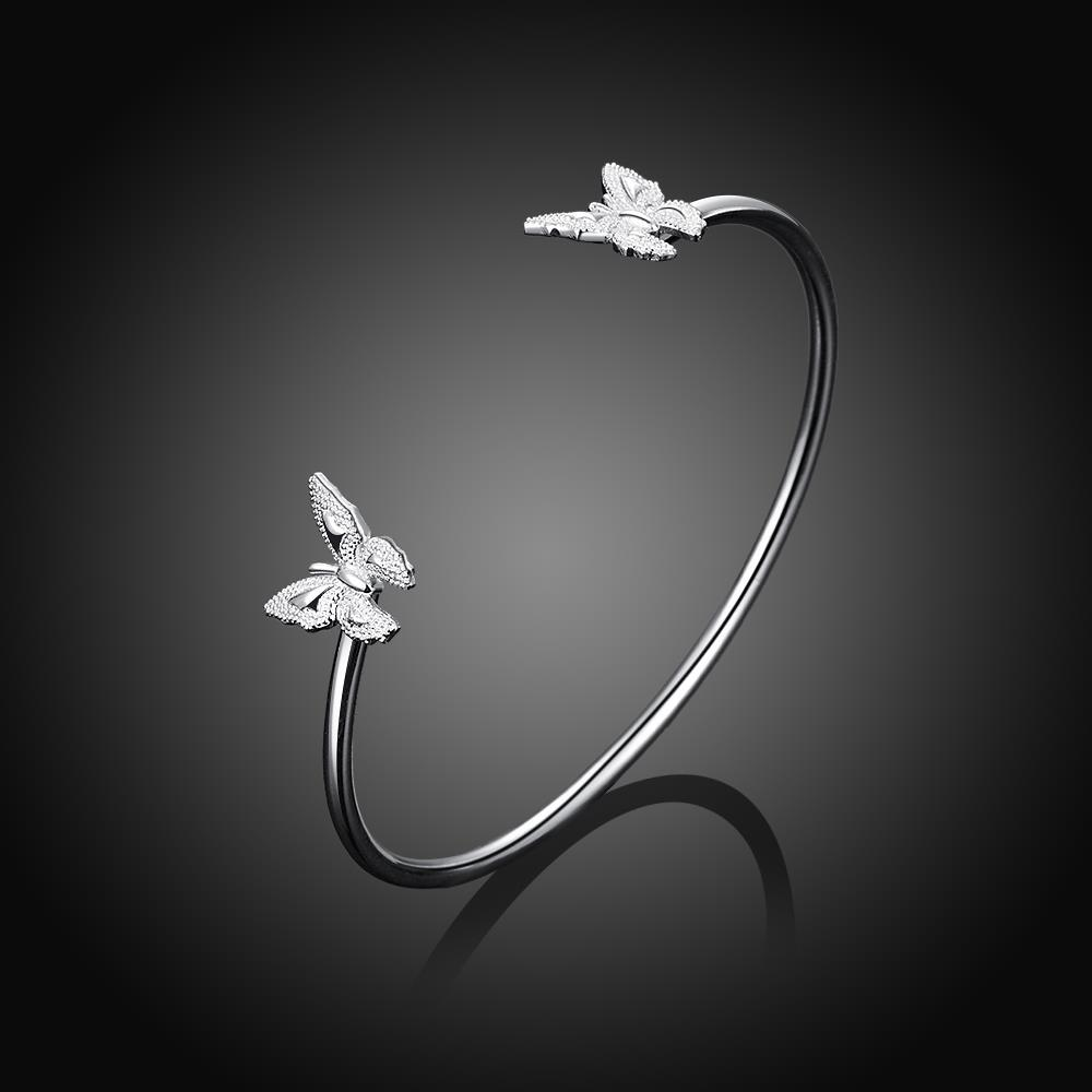Wholesale Classic Silver Insect Bangle&Cuff TGSPBL153 1