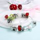 Wholesale Fashion Silver Small Bell Beads Bracelet TGBB013 2