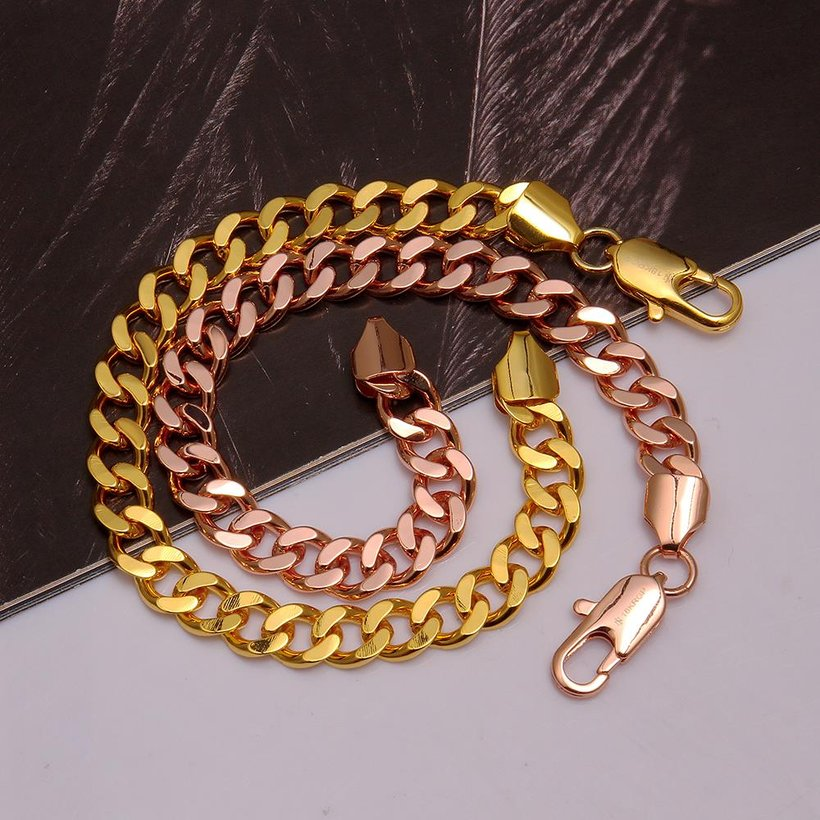 Wholesale Classic Rose Gold Geometric Bracelet TGGPB097 2