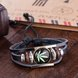 Wholesale Trendy Antique Silver Geometric Bracelet TGLEB175 7