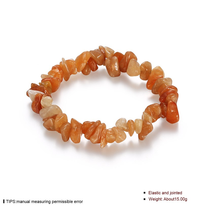 Wholesale Vintage Geometric Yellow Crystal Bracelet TGNSB017 0