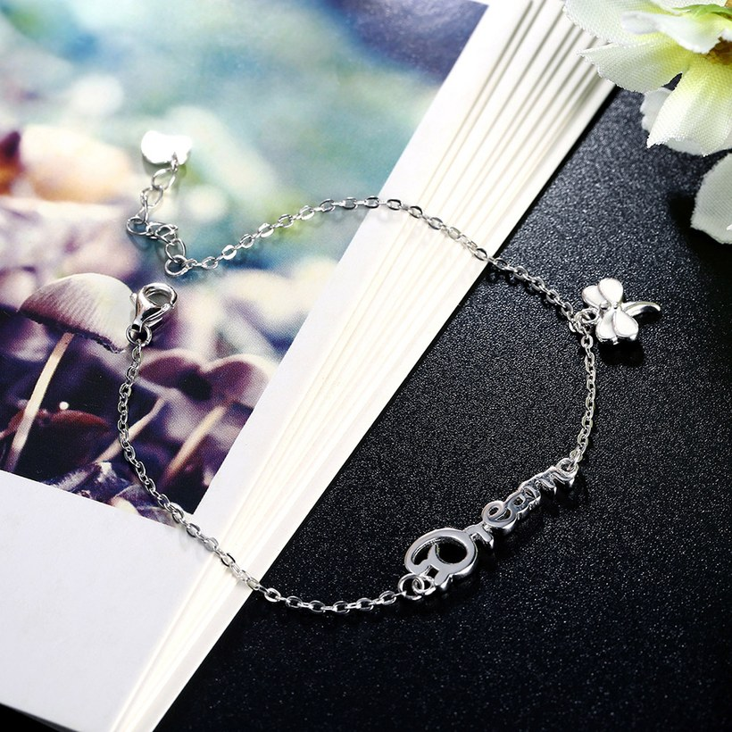 Wholesale Romantic Silver Insect Bracelet TGSLB026 3
