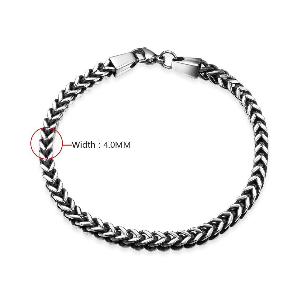 Wholesale Vintage 316L stainless steel Figure Bracelet TGSMB037 0