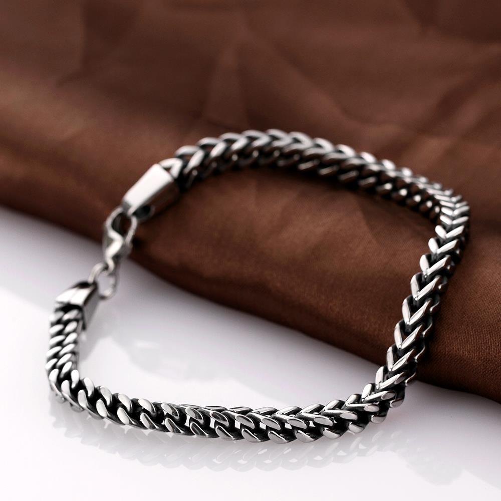 Wholesale Vintage 316L stainless steel Figure Bracelet TGSMB037 1