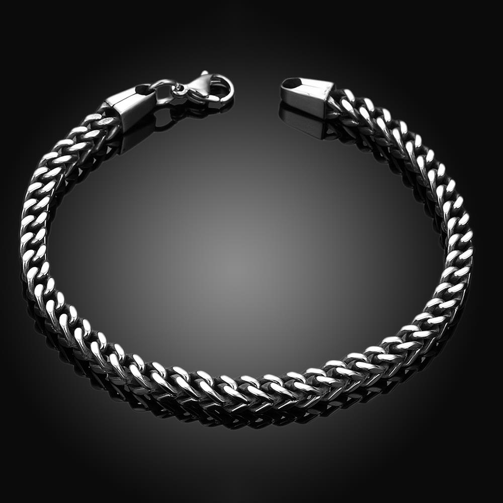 Wholesale Vintage 316L stainless steel Figure Bracelet TGSMB037 3