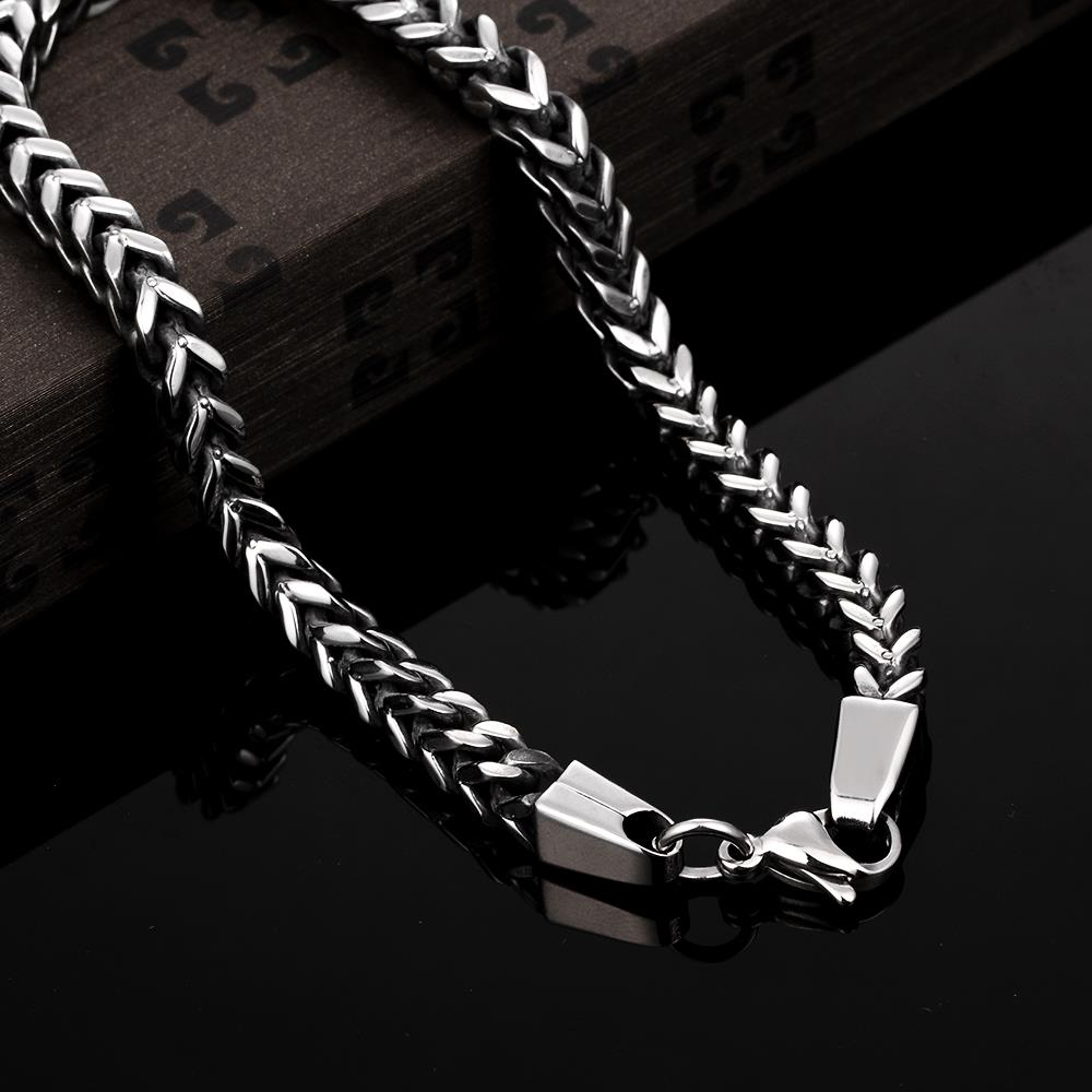 Wholesale Vintage 316L stainless steel Figure Bracelet TGSMB037 4