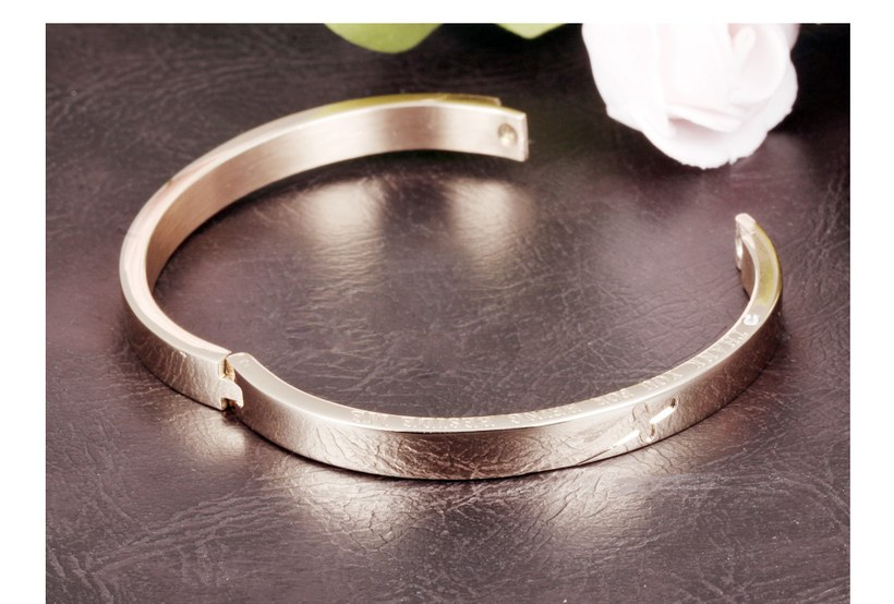 Wholesale New Fashion Stainless Steel Couples BraceletLovers TGSMB001 3