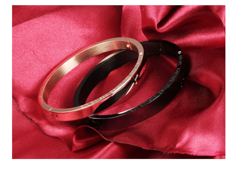 Wholesale New Fashion Stainless Steel Couples BraceletLovers TGSMB001 5