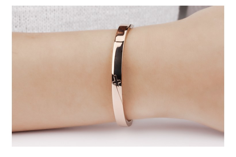 Wholesale New Fashion Stainless Steel Couples BraceletLovers TGSMB001 7