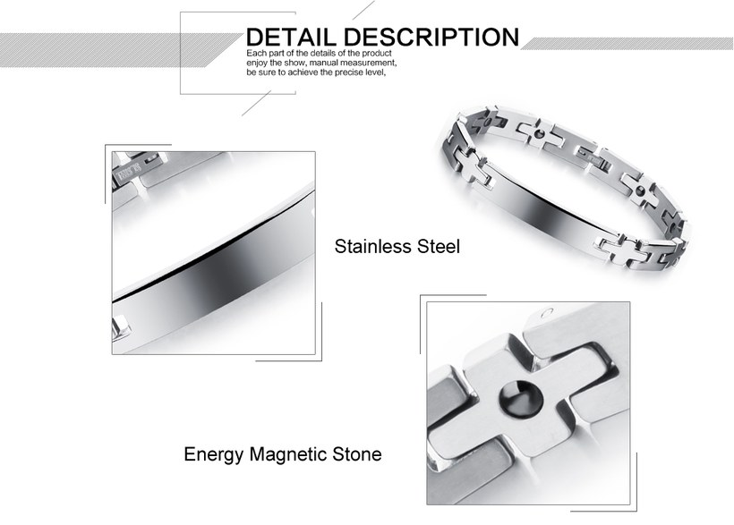 Wholesale 2018 New Fashion Stainless Steel Couples BraceletLovers TGSMB008 2