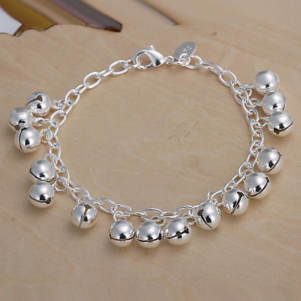 Wholesale Romantic Silver Ball Bracelet TGSPB409 0