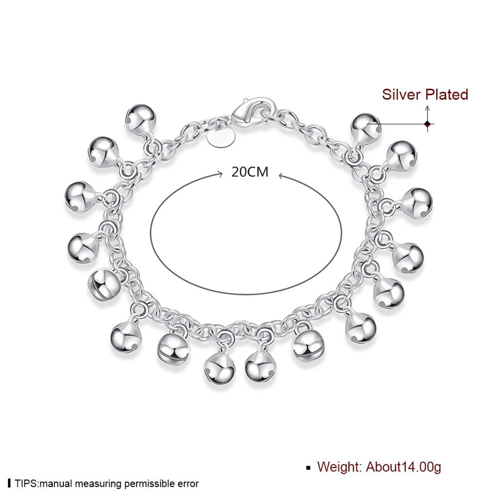 Wholesale Romantic Silver Ball Bracelet TGSPB409 1