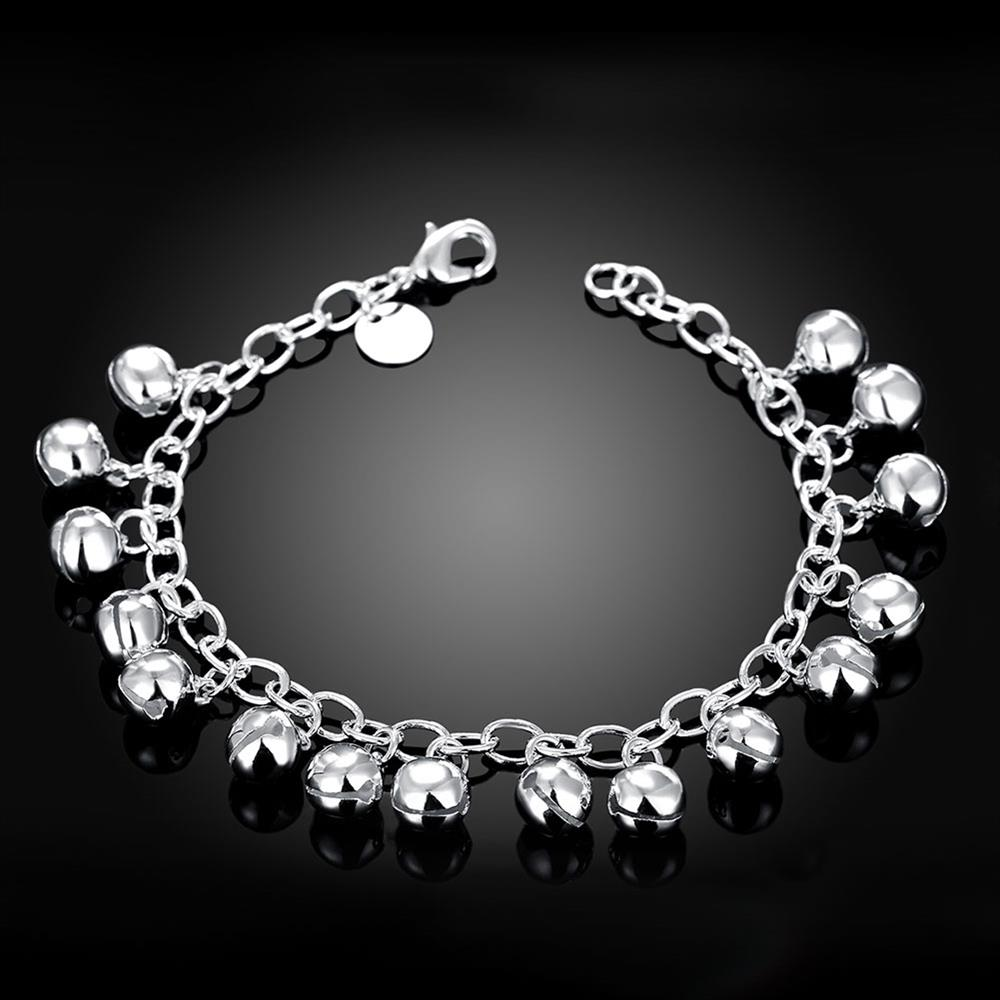 Wholesale Romantic Silver Ball Bracelet TGSPB409 2