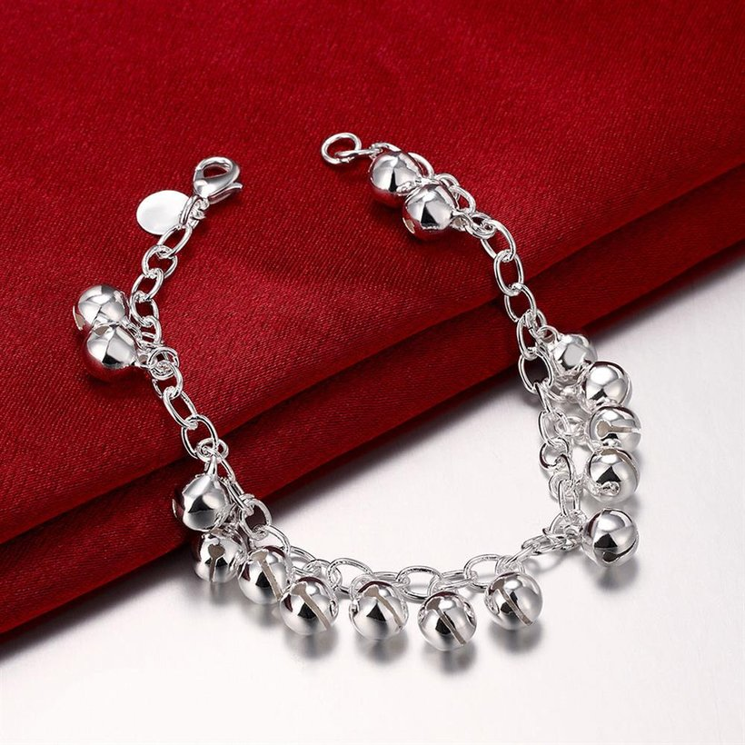 Wholesale Romantic Silver Ball Bracelet TGSPB409 3