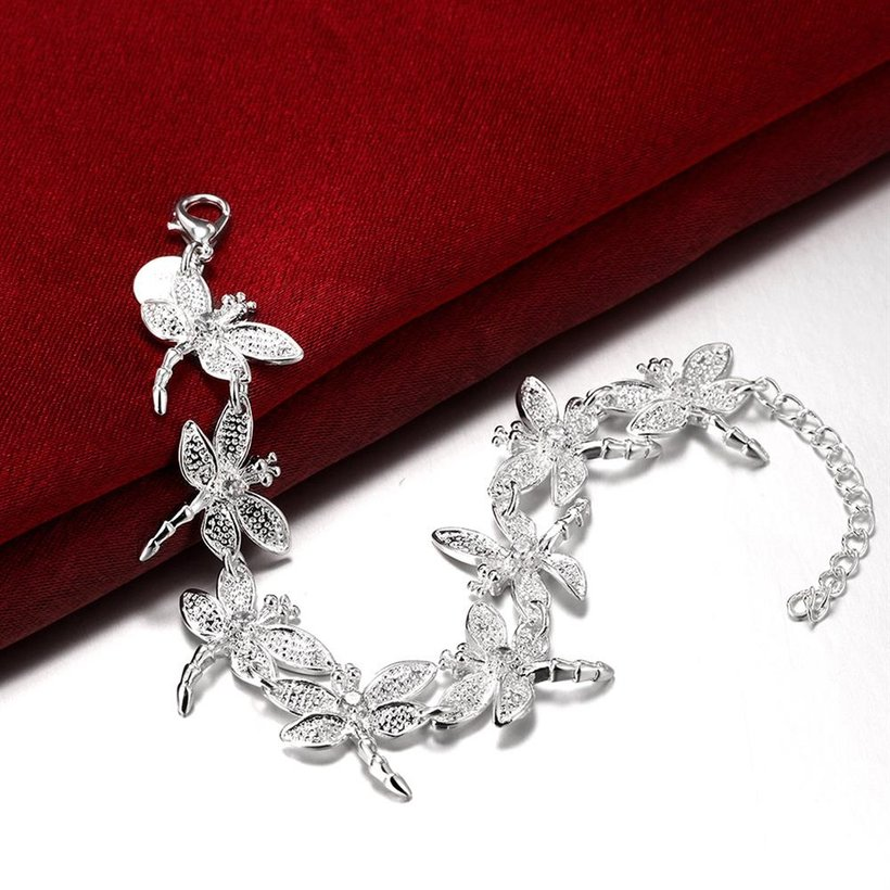 Wholesale Romantic Silver Animal Bracelet TGSPB071 1