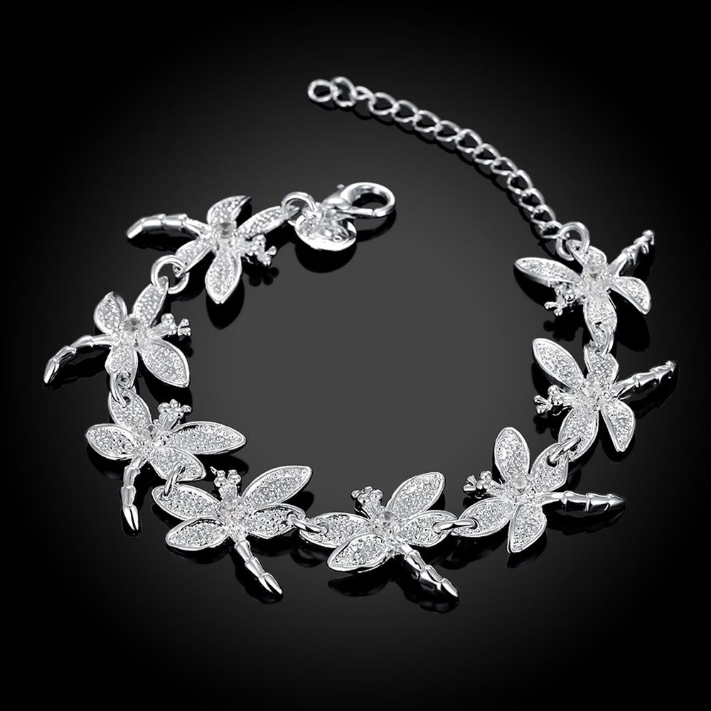 Wholesale Romantic Silver Animal Bracelet TGSPB071 5