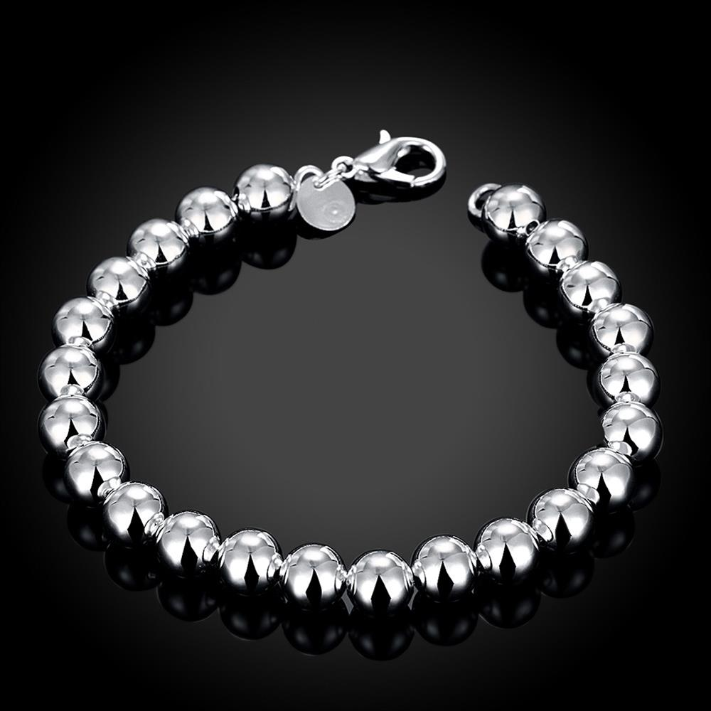 Wholesale Romantic Silver Ball Bracelet TGSPB081 2