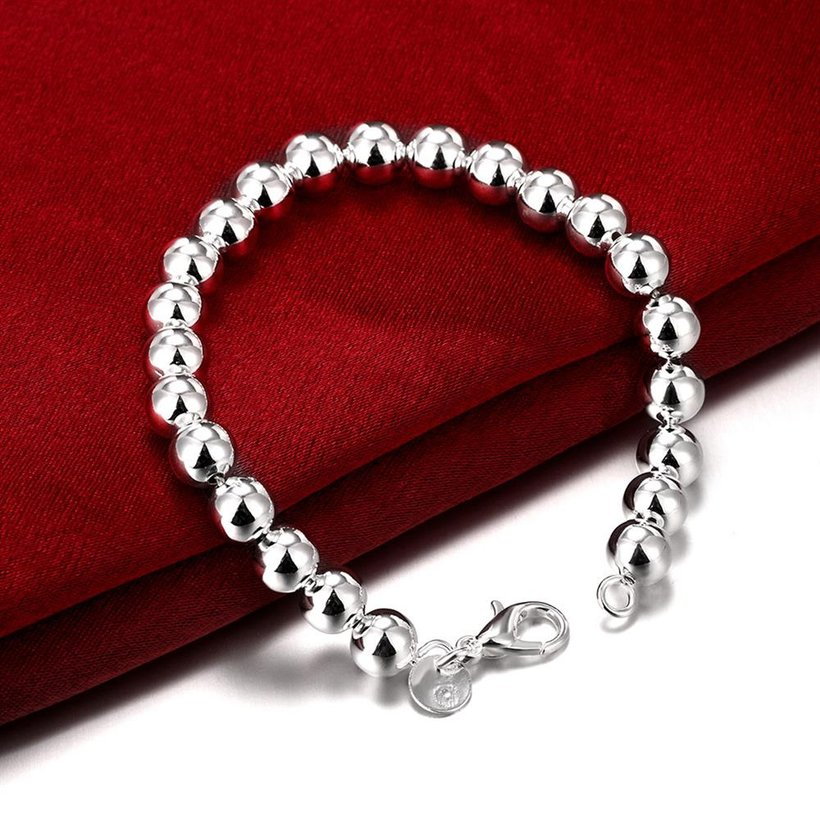 Wholesale Romantic Silver Ball Bracelet TGSPB081 3