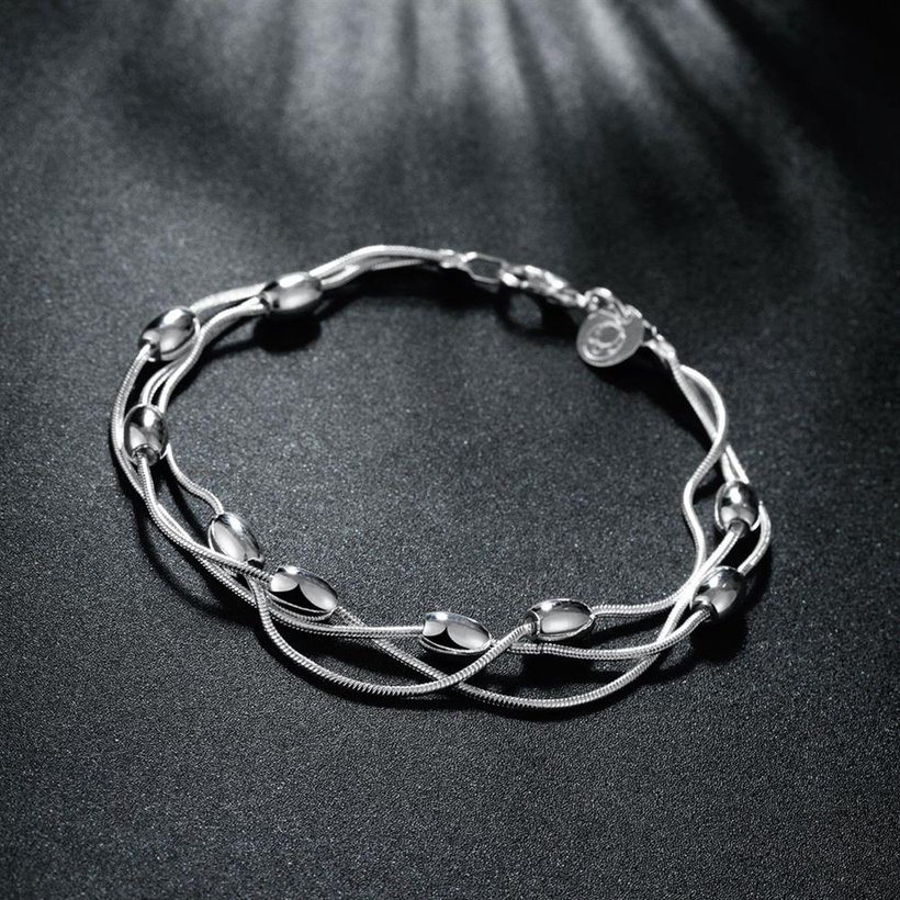 Wholesale Trendy Silver Ball Bracelet TGSPB300 2