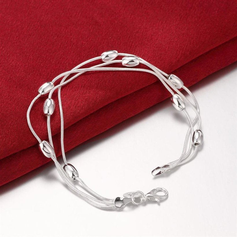 Wholesale Trendy Silver Ball Bracelet TGSPB300 3