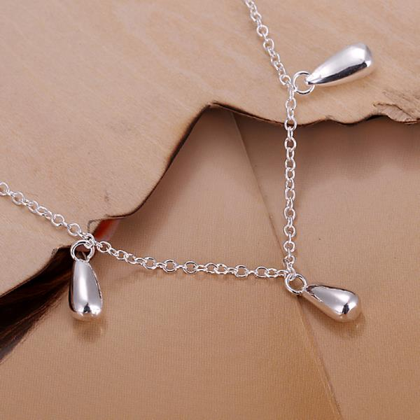 Wholesale Romantic Silver Water Drop Bracelet TGSPB317 1