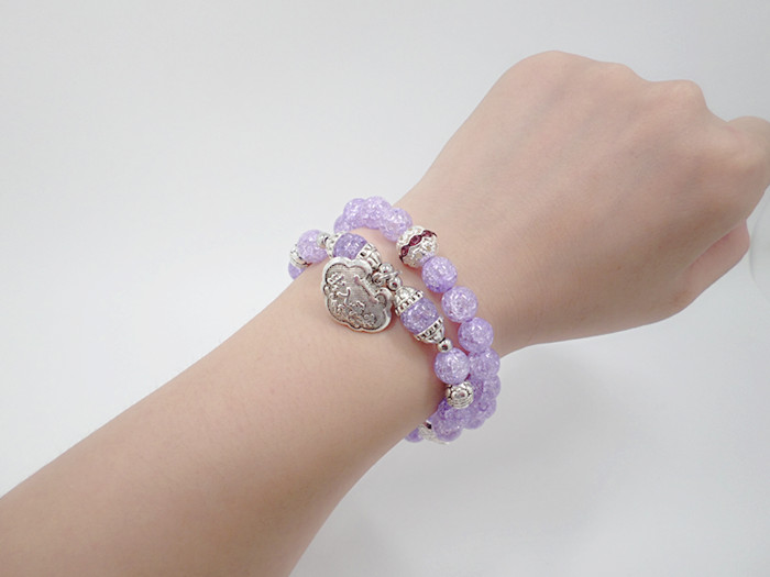 Wholesale Popular Chinese national Style String Multi-element Crystal Beaded bracelet hand accessories for women charm bracelet VGB044 15