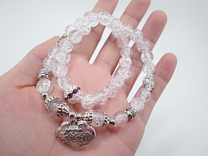 Wholesale Popular Chinese national Style String Multi-element Crystal Beaded bracelet hand accessories for women charm bracelet VGB044 5