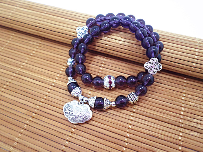 Wholesale Popular Chinese national Style String Multi-element Crystal Beaded bracelet hand accessories for women charm bracelet VGB044 7