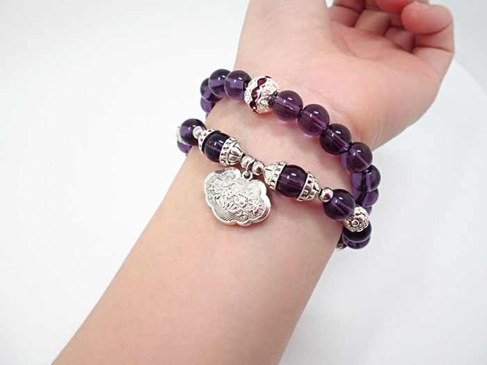 Wholesale Popular Chinese national Style String Multi-element Crystal Beaded bracelet hand accessories for women charm bracelet VGB044 8