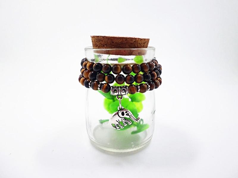 Wholesale Natural Stone Beads Buddha  elephant Bracelet Brown Tiger Eyes Yoga Meditation Braclet For Men Women Hand Jewelry Homme Unisex VGB095 6