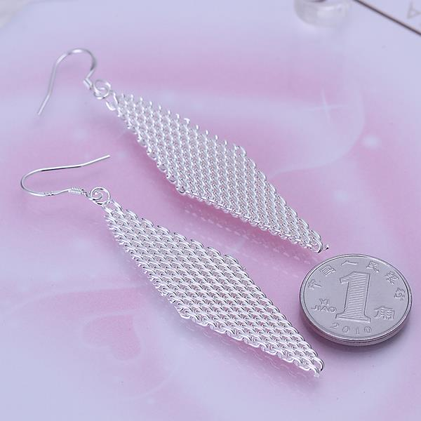 Wholesale Big Rhinestones Weave Earrings For Women new Fashion Statement Crystal Large Dangle Earing Femme Evening Party Wedding Jewelry  TGSPDE194 0